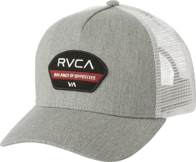 2b1d66035efe9 ... sale rvca hat trucker trail grey e7fb5 fa4dc