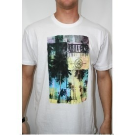 Aqua East Geo Palms Mens Tee Thumbnail