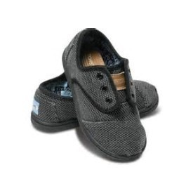 Toms Tiny Cordones Blue Rugged Shoe Thumbnail