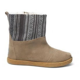 Toms Girl Nepal Boot Faux Suede Mix Thumbnail