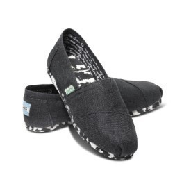 Toms Youth Earthwise Black Shoe Thumbnail