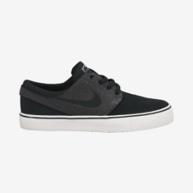 Nike Stefan Janoski Kids Grey Black Shoe Thumbnail