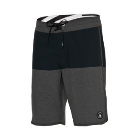 Volocm Mens Static Block Black Boardshort Thumbnail
