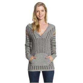 Roxy Jrs Mellie Hood Pocket Sweater Thumbnail