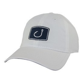 Avid Mens Classic Fishing Hat White Thumbnail