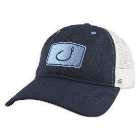 Avid Mens Tomboy Trucker Hat White/Navy Thumbnail