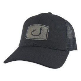 Avid Hat Iconic Fishing Trucker Blk Thumbnail