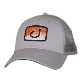 Avid Hat Redfish Fill Trucker Grey Thumbnail