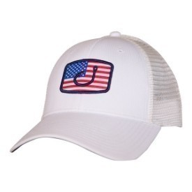 Avid Hat America Flag Trucker White Thumbnail