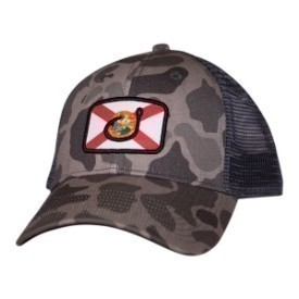 Avid Hat Florida Flag Trucker Camo Thumbnail