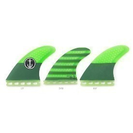 Captain Fin Co Medium Single Tab Green Fin Thumbnail