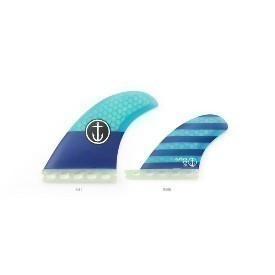 Captain Fin Co CF-Quad St Blue Fin Thumbnail