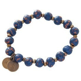 BRACELET 7MM DISTRESSED INDIGO Thumbnail