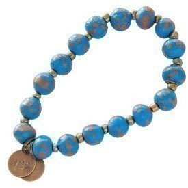 BRACELET 7MM DISTRESSED NBLUE Thumbnail