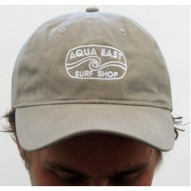 Aqua East Surf Shop Original Logo Twill Hat Thumbnail