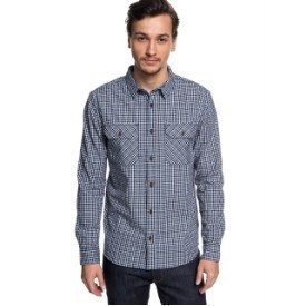 Quiksilver Mens Fuji View Flannel Shirt Thumbnail