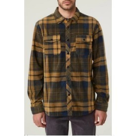 O'Neill FLEECE GLACIER PLAID NAVY Thumbnail
