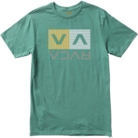 RVCA Mens Stripe Box SS T-Shirt Thumbnail