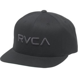 RVCA Mens RVCA Twill Snap Hat Thumbnail