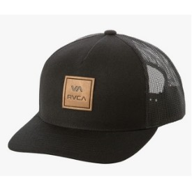 RVCA Mens All The Way Curved Trucker Hat Thumbnail