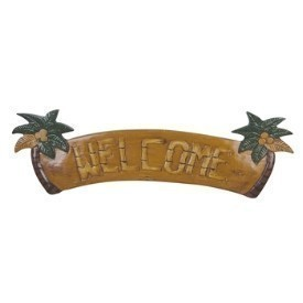 Palm Tree Welcome Sign Thumbnail
