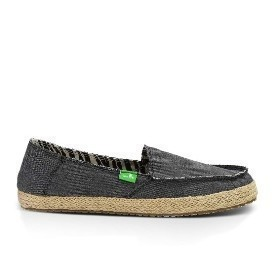 Sanuk Women Fiona Charcoal Shoes Thumbnail