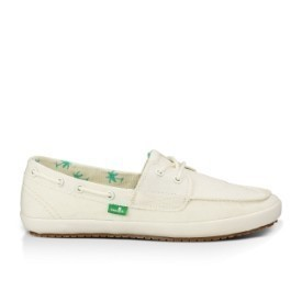 Sanuk Women Sailaway 2 Off White Shoe Thumbnail