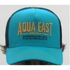 Aqua East Surf Shop Trucker Mesh Hat Thumbnail