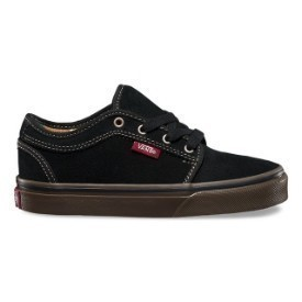 Vans Youth Chukka Low Black Gum Shoes Thumbnail