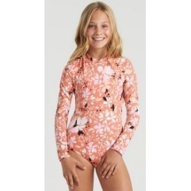 Billabong Girls' Petal Party Bodysuit Swim Thumbnail