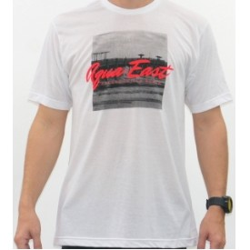 Aqua East Pier Mens T-Shirt Thumbnail