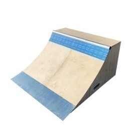 OC Ramps Brad McClain Blue Tile Quarter Pipe Thumbnail