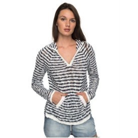 Roxy Slouchy Moring Stripe Top Thumbnail