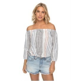 Roxy Crossing Stripes Top Thumbnail
