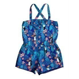 Roxy Girl 2-7 Pioneer Skies Romper Thumbnail