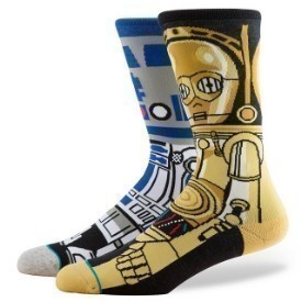 Stance Droid Blue Socks Thumbnail