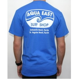Aqua East Mens Original Basic T-Shirt Thumbnail