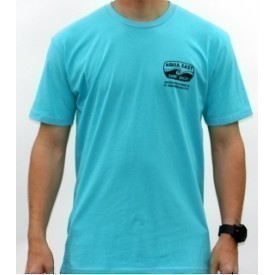 Aqua East Original Logo Mens T-Shirt Thumbnail