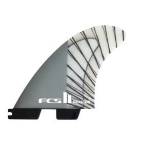 FCS Fin Reactor PC Carbon LG Tri Thumbnail