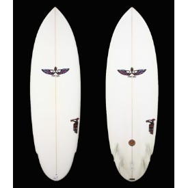 Von Sol Surfboards 5'6 Clear 5 Fin Shadow Thumbnail