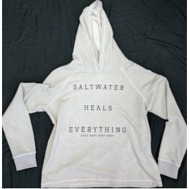 Aqua East Saltwater Heals Everything Hoodie Thumbnail