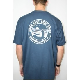 Aqua East Sunset Surfer Mens Tee Thumbnail