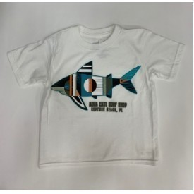Aqua East Sharky Shark Toddler SS Tee Thumbnail