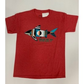 Aqua East Sharky Shark Youth SS Tee Thumbnail