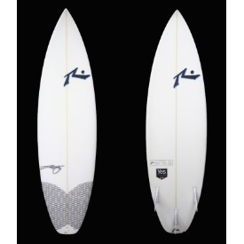 Rusty Surfboards 6'0 Clear Carbon Yes Thanks Thumbnail