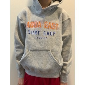 Aqua East Collegiate Youth Pullover Hood Thumbnail