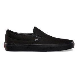 Vans Classic Slip On Black Black Shoe Thumbnail