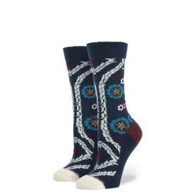 Stance Women Roulette Navy Socks Thumbnail